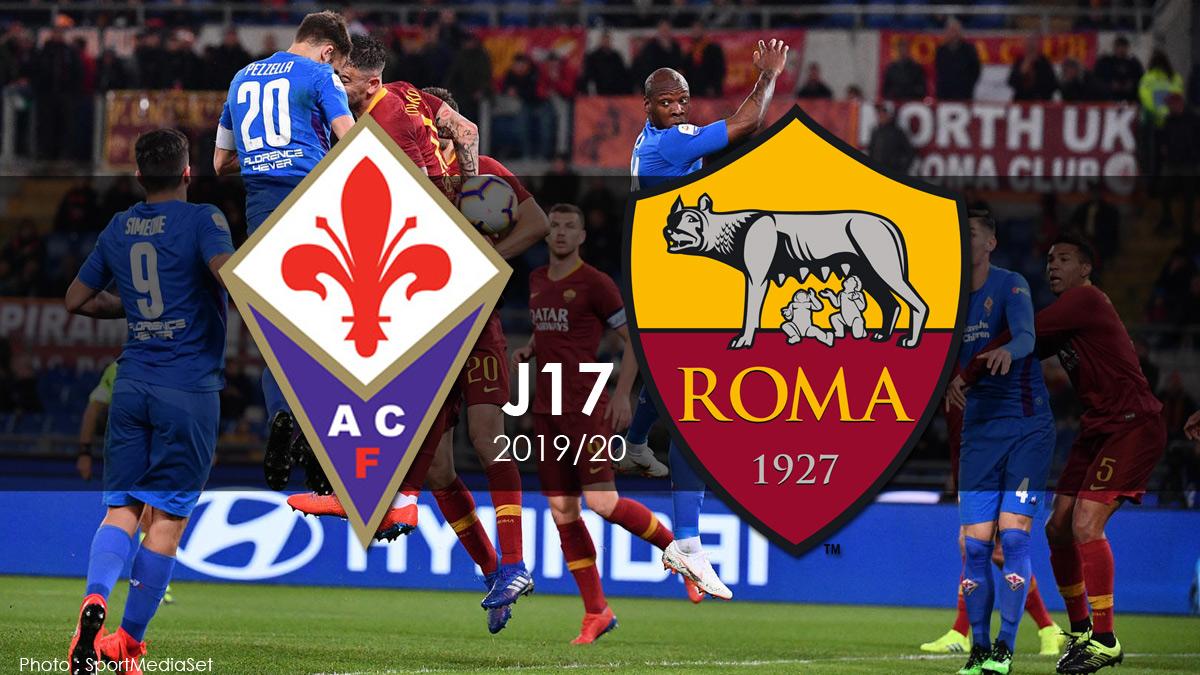 Série A J17 - Fiorentina / Asroma