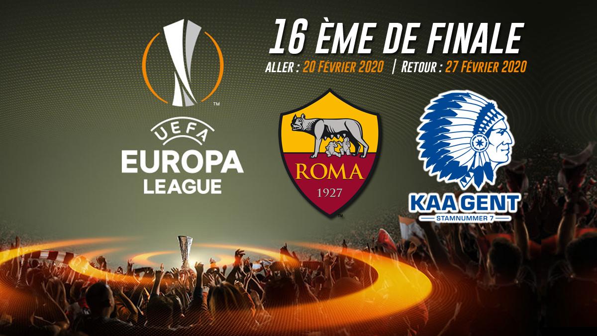 UEL 2020 AS ROMA vs GENT