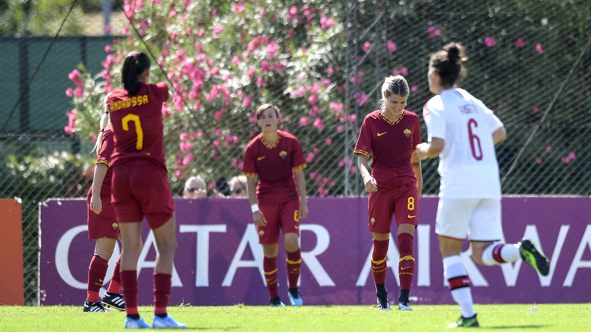 Milan - AS Roma féminine