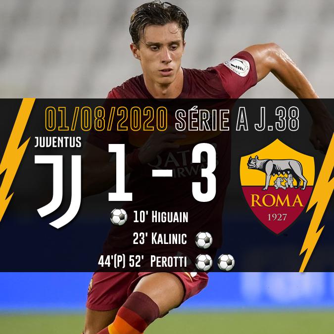 Juve 1 - 3 Roma