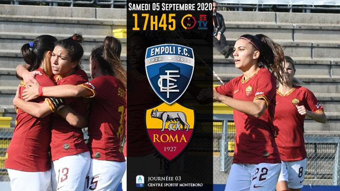 AS Roma F / Empoli 700