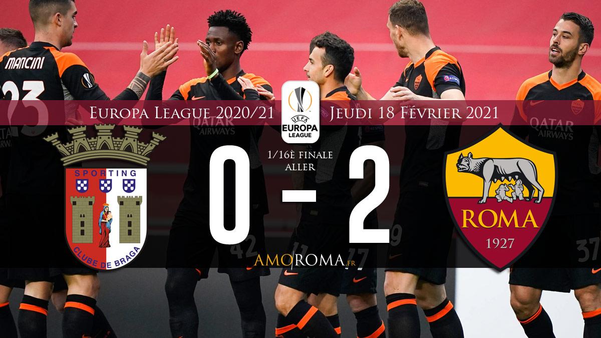 Braga 0 - 2 Roma