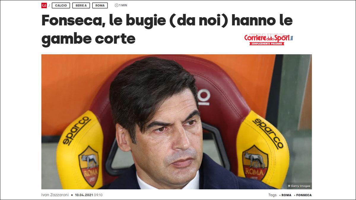 Fonseca corriere